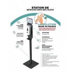 STATION DE DÉSINFECTION DES...