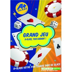 PACK GRAND JEU A+GLASS