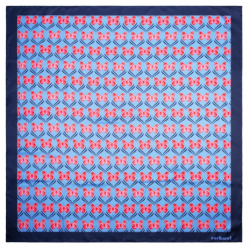 FOULARD PONTIA BRIGHT BLUE...